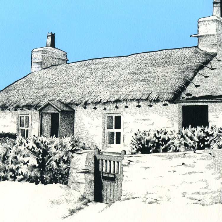 Cregneash Cottage Isle of Man