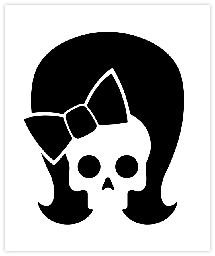 Betty Pie Co. skull