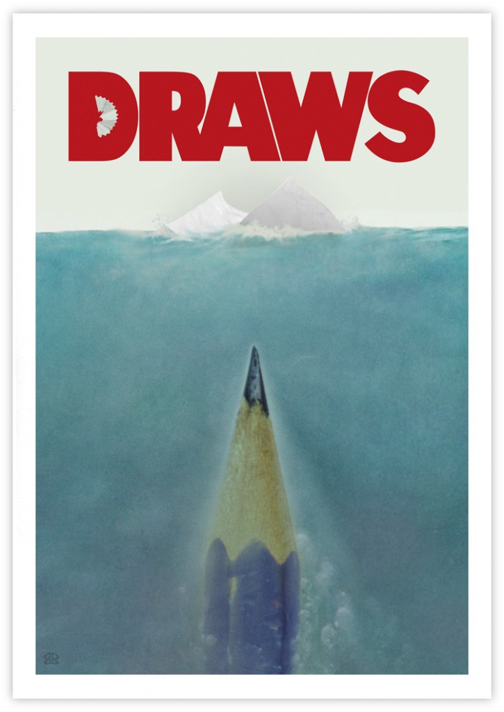 shark pencil