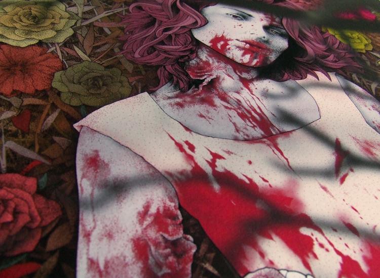 zombie girl detail