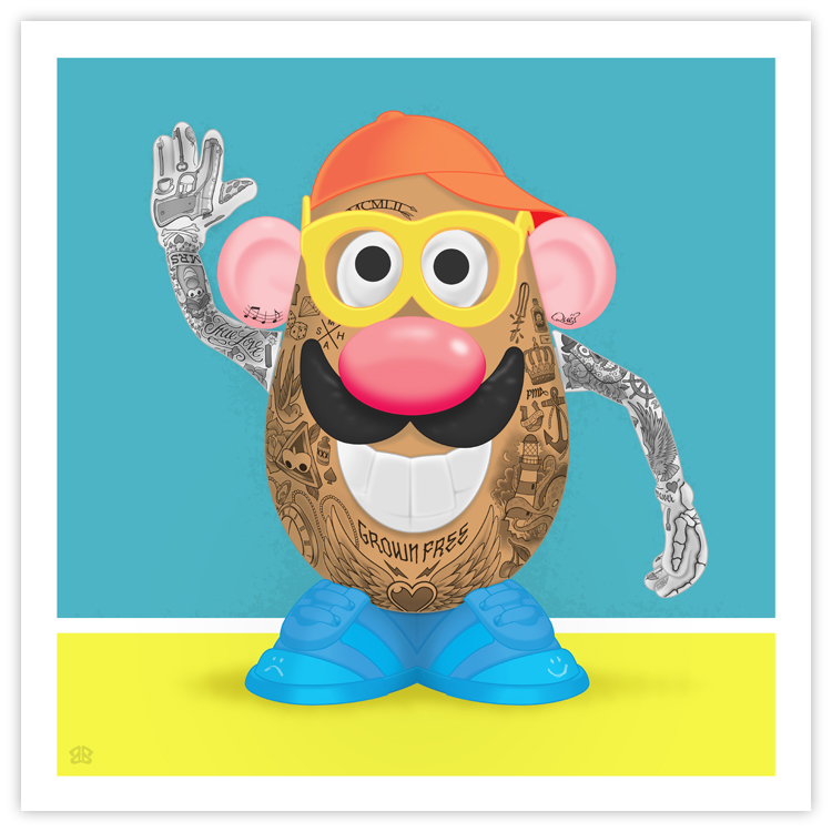 Mr. Potattoo Head