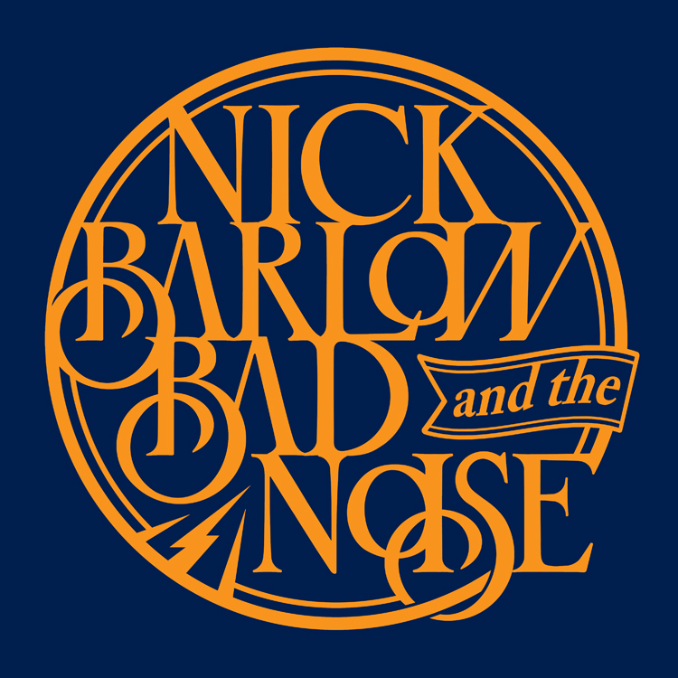 band logo Nick Barlow and the Bad Noise