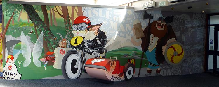 Manx mural