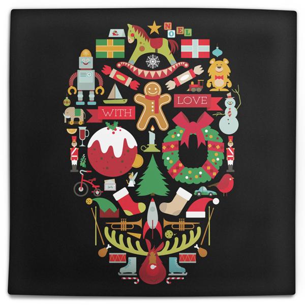 Merry XXXMas Cushion Cover