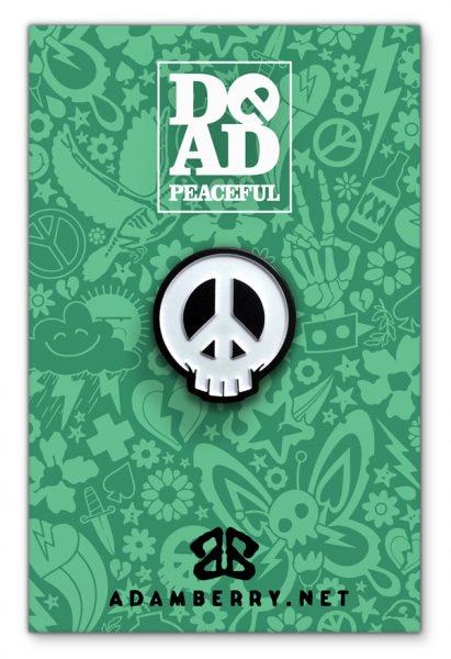 Dead Peaceful Pin