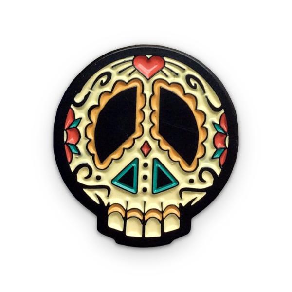 Dia De La Paz Pin